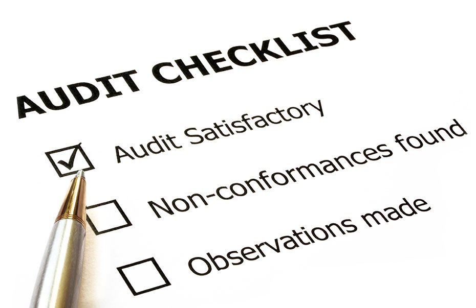 photo of a checklist, similar to the checklist used by Service Canada Auditors for Canadian Immigration