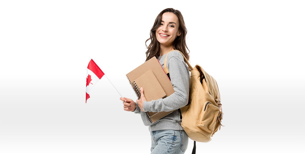photo of a happy student who received her student visa with the help of Canadian Immigration Group, an immigration team in Edmonton and Vancouver helping individuals from foreign countries immigrate to Canada